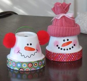 claypot snowman2